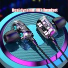 Sports Dual Drivers 4 Units Heavy Bass HiFi In-ear Wired Earphones