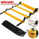 6 Rung Agility Ladder for Speed Soccer Football Fitness Feet Training w/Bag
