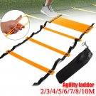 12 Rung Agility Ladder for Speed Soccer Football Fitness Feet Training w/Bag