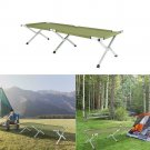 Folding Camping Cot with Carrying Bags Outdoor Travel Hiking Sleeping Chair Bed