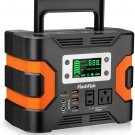 330W Portable Power Station, Flashfish 300Wh 81000mAh Solar Generator CPAP Backup