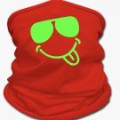 Cool Neon Shades Multifunctional Scarf | Tan's Club (RED)