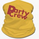 Party Crew Glitz Multifunctional Scarf | Tan's Club (Yellow)
