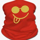 Gold Glitz Smile Multifunctional Scarf | Tan's Club (RED)
