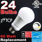(24) LED Soft White 60W DIMMABLE ~Free Shipping~ 9.5W (60 Watt Equivalent) 2700K A19 Light Bulbs