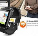 Black Bluetooth Smart Wrist Watch Touch Screen Phone Mate for Android Smartphone