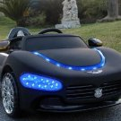 Hot-Selling Children's Electric Maserati Ride On Car with Remote Control, Blue Headlights