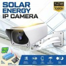 Solar CCTV Security IP Camera Wifi Wireless Rechargeable 1080P HD PIR Outdoor