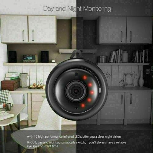 NEW Wireless Mini Night Vision HD WIFI 1080P Home Security Camera