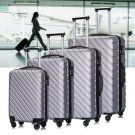 4PCS Luggage Set Travel Bag Trolley Spinner Business Hard Shell ABS Suitcase Set NEW
