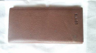 LEVI'S Genuine Leather Card Holder Wallet