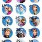 Disney Frozen Anna Elsa Olaf Party Favor Necklaces - Set of 5