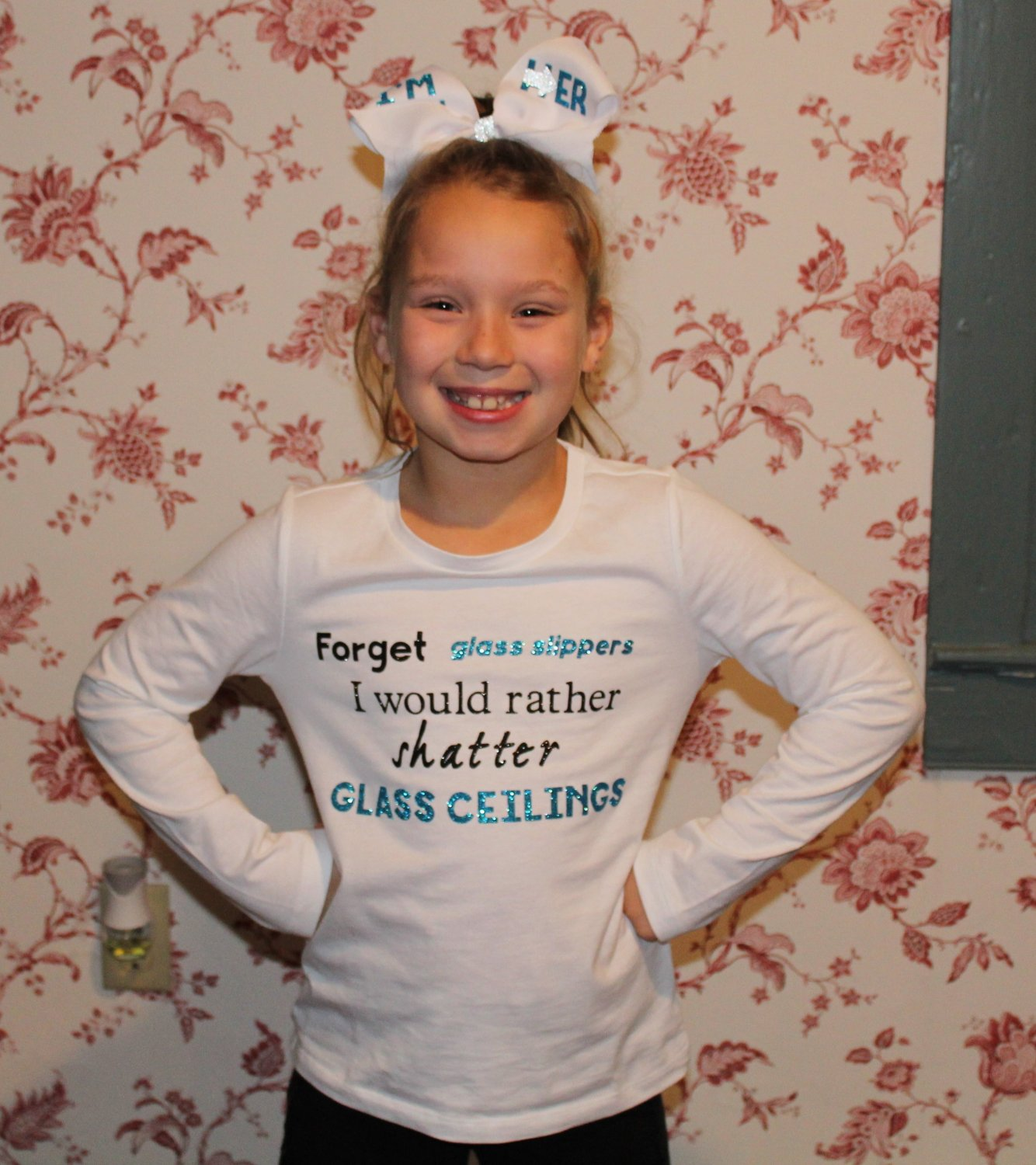 Forget Glass Slippers I'd Rather Shatter Glass Ceilings Shirt - Child Size
