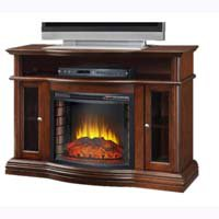 Media Center Fireplace