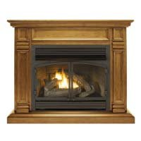Toasted Almond Gas Fireplace