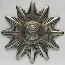 German WW2 SILVER Shako Shield Badge - rare Police kepi, order cross medal