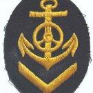 German WW2 NAVY SHIELD - Kriegsmarine Officer Sleeve Badge, cap, medal