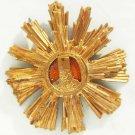 rare GOLD star - WW2 Romanian breast order of Tudor Vladimirescu