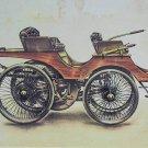Original Vintage old pictures of automobile LANGHESTER 1895, photo car, badge