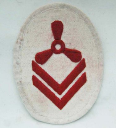 German WW2 Kriegsmarine UNDERWATER DETECTOR RATE PATCH badge, cap, medal