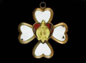 Russian Imperial Enamel Badge made in Europe for WW1, 1933