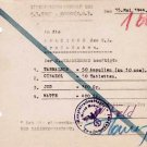 UNIQUE German WW2 Medical Prescription from Concentration Camp Gross Rosen, 1944