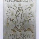 Original WW2 Polish Cigarette Case with EAGLE from Armia Krajowa + Photo, 1944