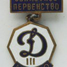 Russian sport badge Dinamo club hot enamel, medal