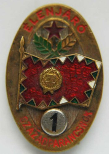 Military badge from Hungary Elenjaro, 1st class medal