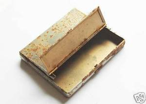 German WW2 POCKET CIGARETTE CASE, box lighter