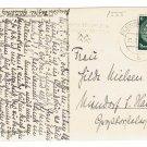 German WW2 Postcard from Commander of U-370 Oberleutnant Karl Nielsen