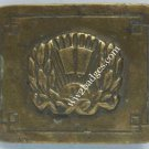 IMPERIAL RUSSIAN MILITARY SCHOOL belt buckle , 1890-1916