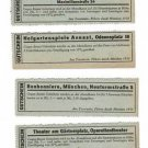 Rare Original German WW2 Ticket to Theatre, Opera