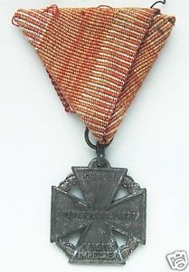 German WW1 HONOR CROSS for Parade Mount, Medal with Ribbon, award badge