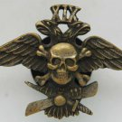 Russian Imperial Badge of the 19th Corps Air-division, 1917 + Flight Helmet