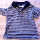 DOCKERS MENS SHORT SLEEVED BLUE SHIRT SIZE MEDIUM STAIN DEFENDER WRINKLE FREE