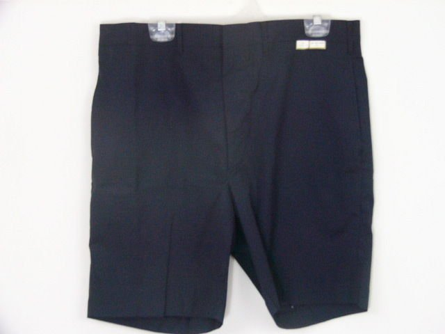 MENS NAVY BLUE DRESS SHORTS SIZE 36 WAIST NEW WITH TAGS large