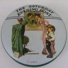 NORMAN ROCKWELL 1935 THE SATURDAY EVENING POST SCHOOL DAYS TIN VINTAGE 5""