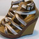 MICHAEL ANTONIO PLATFORM WEDGE WOMENS STRAPPY SHOE SIZE 8 micheal SEXY! HIGH