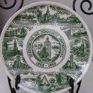 GREENSBURG, IND COMMUNITY Centennial Commemorative Kettlesprings Kiln Plate E87