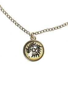 Supernatural Join the Hunt Dome Anti-Possession Symbol Pendant Necklace by Bioworld