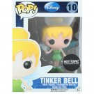 FUNKO Disney POP! #10 Glitter Tinker Bell Vinyl Figure - Hot Topic 25th Anniversary Exclusive