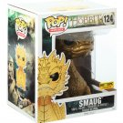 "FUNKO Hobbit Battle of The Five Armies POP! Movies Gold Smaug #124 6"" Figure Hot Topic Exclusive"