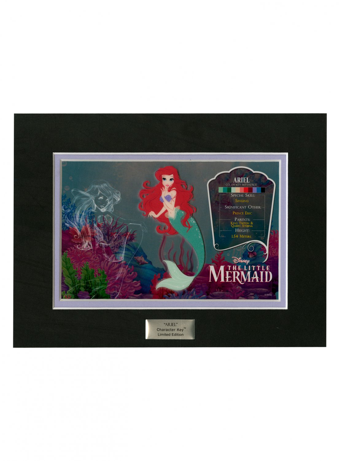 Disney The Little Mermaid Ariel Hot Topic Variant Edition Character Key by Acme Archives