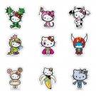 Complete Set of 9 - tokidoki x Hello Kitty Magnet Reunion Collection