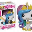 Funko My Little Pony POP! Princess Celestia #08 (Glitter Mane) Vinyl Figure Hot Topic Exclusive