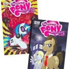 Hot Topic Exclusive MLP   My Little Pony Friendship is Magic Comic Issues #1 & #2 (Sealed together)