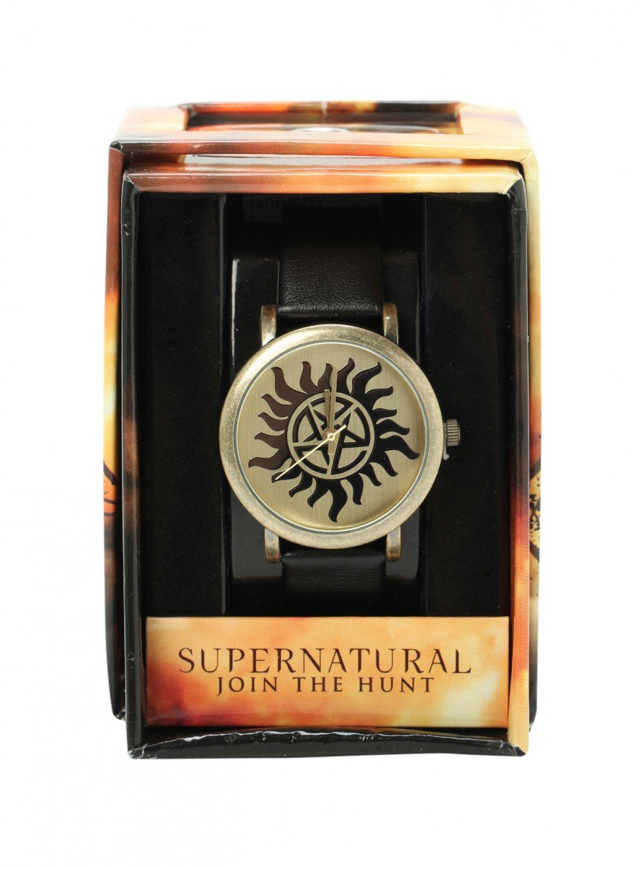 Supernatural Anti-Possession Symbol Watch