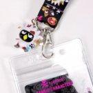 tokidoki x Sanrio Characters Key Leash Lanyard Badge Holder w/Mascot Badtz Maru Moofia