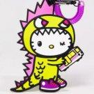 Limited Edition 2013 tokidoki x Sanrio Characters Luggage Tag - Hello Kitty Kaiju
